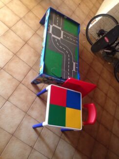 Lego table and chairs Wanguri Darwin City Preview
