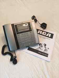 RCA 4-LINE INTERCOM SPEAKERPHONE - NICE 2X West Island Greater Montréal image 2