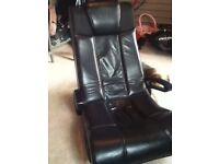 X rocker black gaming chair