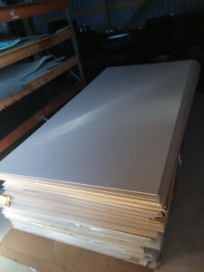 White Interior Trailer Wall and Ceiling Paneling