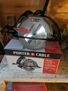 Porter cable circular saw ( new)
