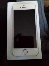 Iphone 5s in silver