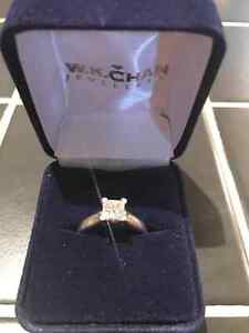 Gorgeous WK Chan engagement ring