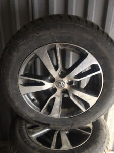 Toyota  Rav4  Mags and Winter Tires