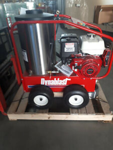 DYNABLAST .. HOT Water Pressure Washers .. Canada's Best !!!