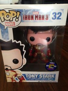 LIMITED ED. COMIC CON 2013 Unmasked Tony Stark IRON MAN 32