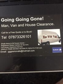 Man and van - local jobs from £20
