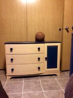 Dresser and matching end unit