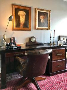 Antique Grand Desk WAS $525 NOW $280