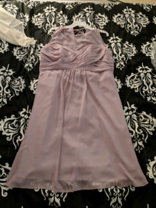 Size 18 alfred angelo lilac dress
