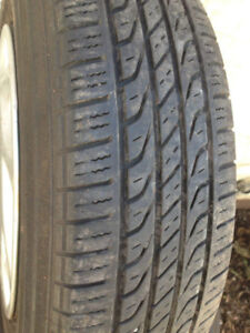 4 Toyo Summer tires With rims 155-80-13 Call (438)992-7870