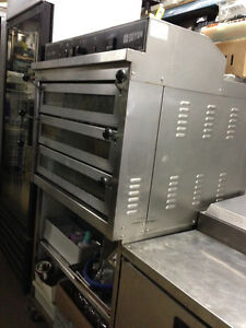 Pizza package Doyon oven