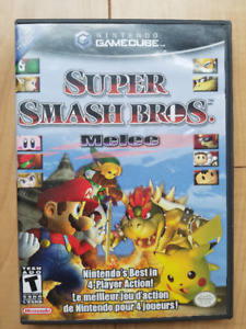 Super Smash Bros Melee GameCube (black label)