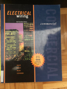 Electrical Wiring, Commercial (Based on the 1998 Canadian)