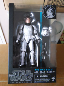 STAR WARS THE BLACK SERIES HAN SOLO STORMTROOPER ACTION FIGURE