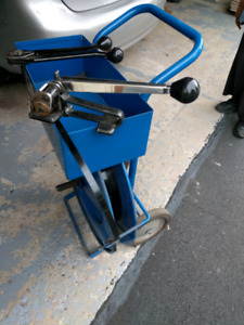 "1/2"" Steel Strapping Tools and Cart"