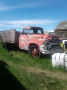 1956 GMC Truck and 1965 Ford galaxy 500 4 door