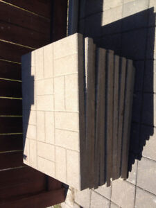 30 patio stones used 24x24 brick pattern in good condition