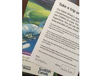 Falkirk Wheel Family Boat Trip Pass - more than just the lift & over an hour long!