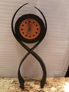Wrought Iron Clock - Battery Operated