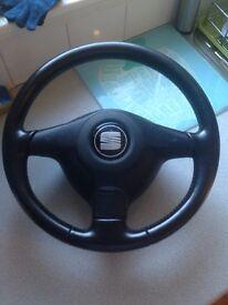 Seat Leon Cupra Steering Wheel