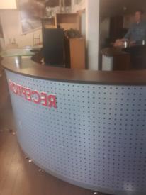 Executive reception counter