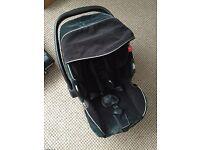 Recaro isofix baby seat