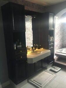 Meuble de salle de bain et vanité