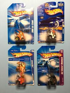Lot de 4 Hot Wheels HYPERMITE