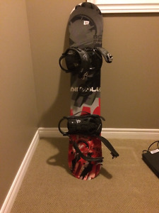 Airwalk Snowboard, Bindings, and Boots