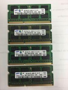 Samsung 2GB PC3-8500S Dimms $10.00 Each OBO Edmonton Edmonton Area image 1