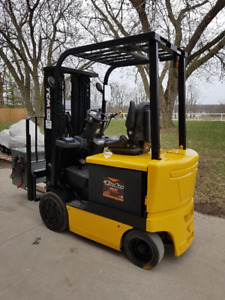 2010 TCM Electric Forklift w/ Charger, Safety and Warranty
