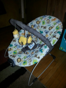 Baby chair and Little Tykes sports activity