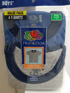 Brand New Fruit Of The Loom T-Shirts (4 pack): Size 2T-4T
