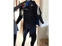 Men's small Mares Scuba wet suit