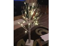 Small light up birch tree- 6 (weddings, events, home)
