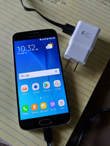 Samsung S6 with fast charging cord