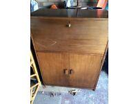 Vintage mahogany bureau