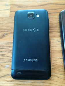 Samsung S2 HD lite Smartphone with 3 cases