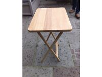 Small Fold Away Table Solid Wood