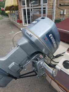 1985 evinrude 90hp out board long shaft