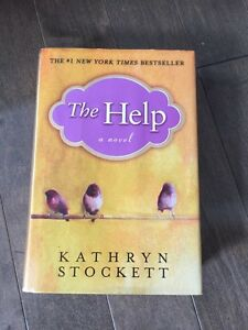 Hard cover copy of THE HELP by Kathryn Stockett