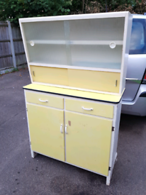 Retro Welsmere Yellow kitchen unit, delivery available