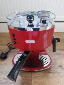 Delonghi espresso coffee machine Eco310 red