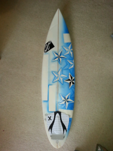 """Surfboard 6'2"""", Jr, incl FCS fins"""