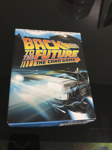 Back to the Future card table top game, great stocking stuffer!