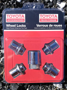 Toyota verrous de roues - Genuine wheel locks