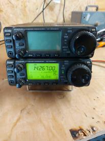 x2 ICOM IC-706MK2 HF Transceivers FAULTY