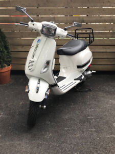 2008 Vespa S150 with Malossi 190cc cylinder kit