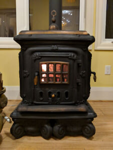 Restored Cast Iron Wood Stove